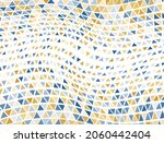 abstract triangles halftone... | Shutterstock .eps vector #2060442404