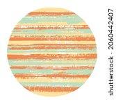 rough circle vector geometric... | Shutterstock .eps vector #2060442407