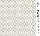 seamless geometric ornament... | Shutterstock .eps vector #2060461637