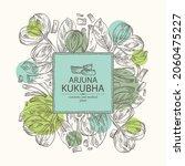 background with kukubha ... | Shutterstock .eps vector #2060475227