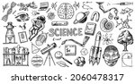 science banner. engraved hand... | Shutterstock .eps vector #2060478317