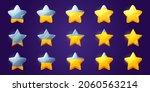 set of stars  game score...