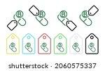 vitamin b green vector icon in...