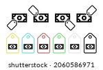 note vector icon in tag set...