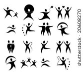 vector silhouette illustration... | Shutterstock .eps vector #20608270