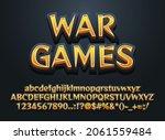 stone war games editable text...