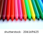 Colored Marker Pens Photo Of...