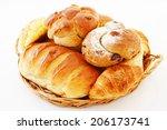 assortment of bread   Shutterstock . vector #206173741