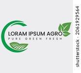 corporate agro farm logo design