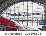 frankfurt germany june 29... | Shutterstock . vector #206196571