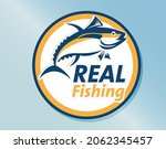 illustration  real fish and... | Shutterstock .eps vector #2062345457