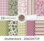vector illustration of a set of ...   Shutterstock .eps vector #206234719