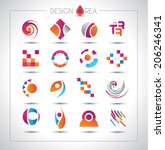 set of design elements for your ...