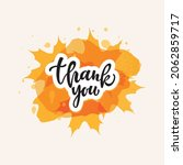 thank you compliment card with...   Shutterstock .eps vector #2062859717