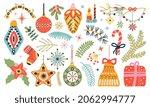 cute doodle christmas... | Shutterstock .eps vector #2062994777