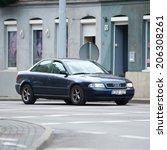 vilnius  lithuania   july 10  ... | Shutterstock . vector #206308261