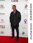 Small photo of Sam Brandon attends The Leimert Park Cultural Film Festival at The Alley, Los Angeles, CA on October 23, 2021