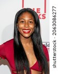 Small photo of Talia Brandon attends The Leimert Park Cultural Film Festival at The Alley, Los Angeles, CA on October 23, 2021
