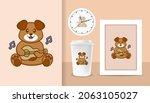 cute dog cartoon character.... | Shutterstock .eps vector #2063105027
