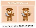 cute dog cartoon character.... | Shutterstock .eps vector #2063105057