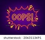 comic speech bubbles with text... | Shutterstock .eps vector #2063113691