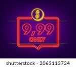 9 99 only dollars discount... | Shutterstock .eps vector #2063113724