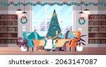 african american grandparents...   Shutterstock .eps vector #2063147087