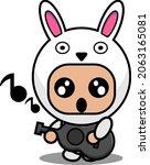 vector illustration of cute...   Shutterstock .eps vector #2063165081