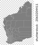 state of western australia map...