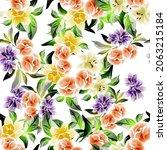 abstract elegance seamless... | Shutterstock .eps vector #2063215184