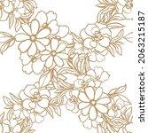 abstract elegance seamless... | Shutterstock .eps vector #2063215187