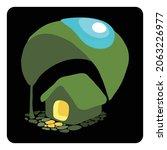home concept vector art... | Shutterstock .eps vector #2063226977
