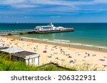 Overlooking Bournemouth Beach...