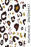 animal skin abstract print... | Shutterstock .eps vector #2063246417