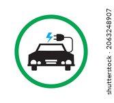 vector illustration of electric ... | Shutterstock .eps vector #2063248907