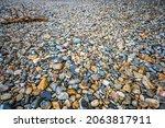 Multi Colored Round Rocks On...