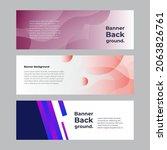 abstract banner design web... | Shutterstock .eps vector #2063826761