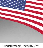 usa flag | Shutterstock . vector #206387029
