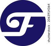letter f abstract logo design   ... | Shutterstock .eps vector #2063914364