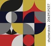 geometry minimalistic art... | Shutterstock .eps vector #2063919257