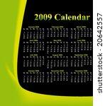 nature calendar | Shutterstock .eps vector #20642557