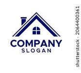 home logo design vector... | Shutterstock .eps vector #2064400361