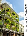 Historic Old Buildings With...