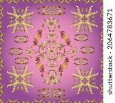 seamless vintage elements for...   Shutterstock .eps vector #2064783671