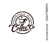 coffee shop vintage logo vector   Shutterstock .eps vector #2064788894