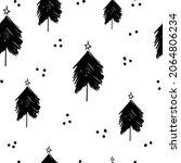 winter graphic seamless pattern ... | Shutterstock .eps vector #2064806234