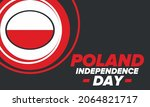 independence day in poland....   Shutterstock .eps vector #2064821717