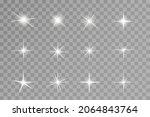 light effect. bright star....   Shutterstock .eps vector #2064843764