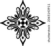 traditional asian  indian motif ...   Shutterstock .eps vector #2065143911