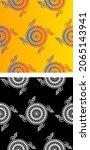traditional asian  indian motif ...   Shutterstock .eps vector #2065143941